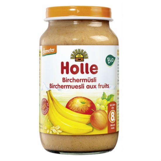 - holle mhlo mpanana berikoko - Holle Μούσλι Φρούτων (Birchemuesli) σε Βάζο +8 Μηνών 220gr