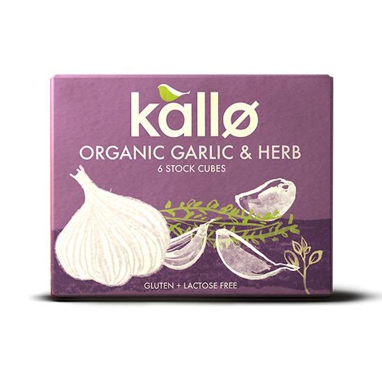 Kallo Κύβοι Μαγειρικής Σκόρδο & Μπαχαρικά 60gr