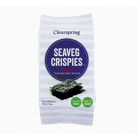 Clearspring Seavag Crispies Nori Σνακ 5gr