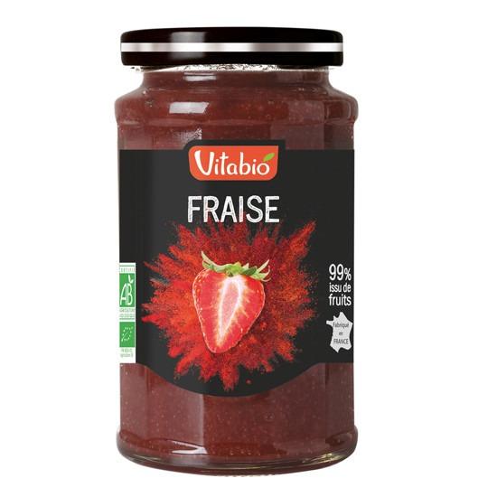 - vitabio strawberryt spread - Vitabio Επάλειμμα Φράουλας 290gr