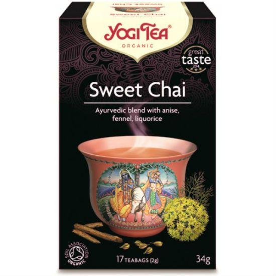 - yogi tea sweet chai - Yogi Tea Sweet Tea 17Φακελάκια