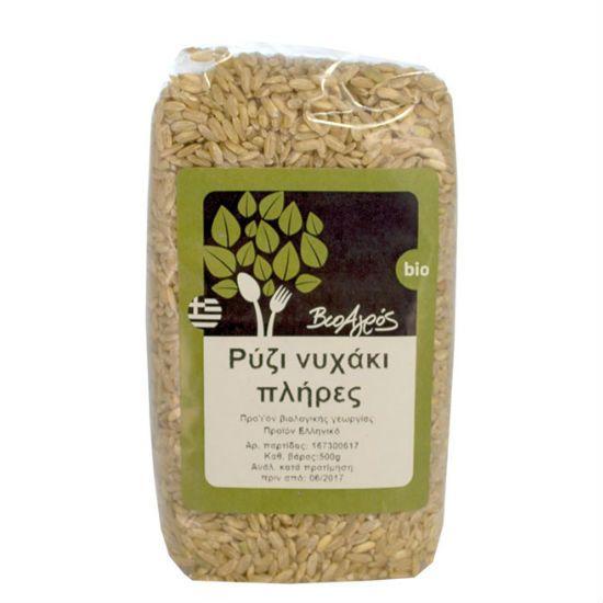 - 221038313 - Βιο Αγρός Ρύζι Νυχάκι Μακρύ Πλήρες 500gr