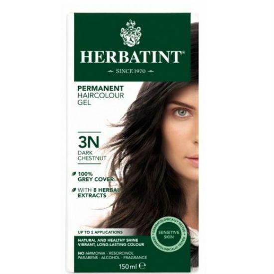 - herbatint 3n - Herbatint Φυτική Βαφή Μαλλιών 3N Καστανό Σκούρο 150ml