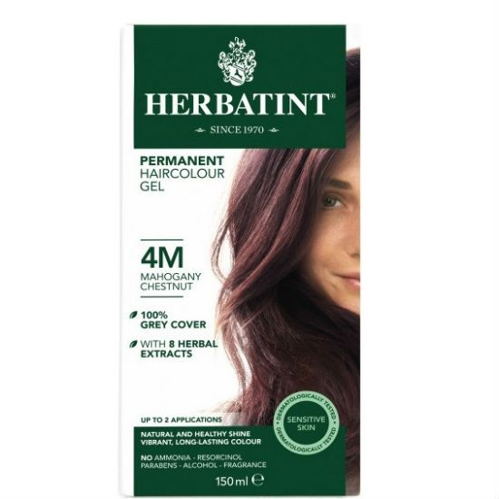 - herbatint 4m - Herbatint Φυτική Βαφή Μαλλιών 4M Καστανό Μαονί