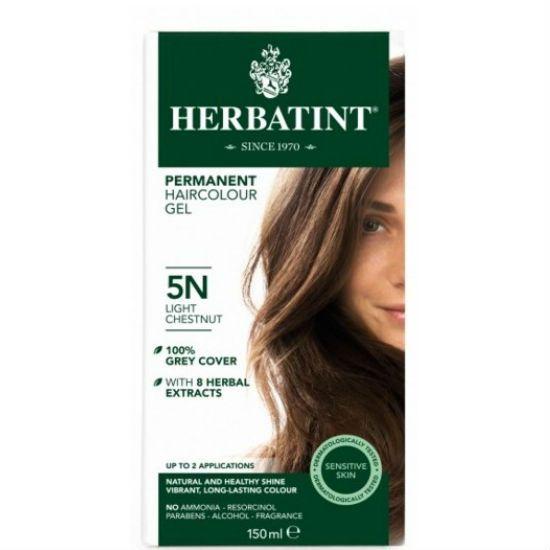 - herbatint 5n - Herbatint Φυτική Βαφή Μαλλιών 5N Καστανό Ανοικτό 150ml