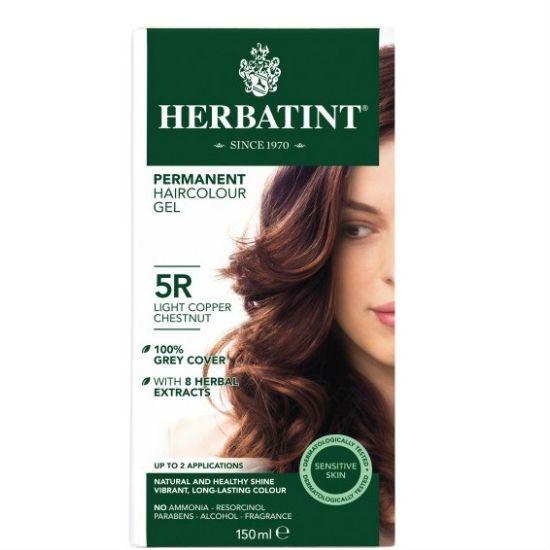 - herbatint 5r - Herbatint Φυτική Βαφή Μαλλιών 5R Καστανό Ανοικτό Χαλκού 150ml