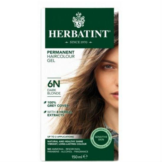 - herbatint 6n - Herbatint Φυτική Βαφή Μαλλιών 6N Ξανθό Σκούρο 150ml