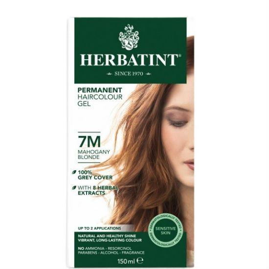 - herbatint 7m - Herbatint Φυτική Βαφή Μαλλιών 7M Ξανθό Μαονί 150ml