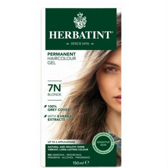- herbatint 7n - Herbatint Φυτική Βαφή Μαλλιών 7N Ξανθό 150ml