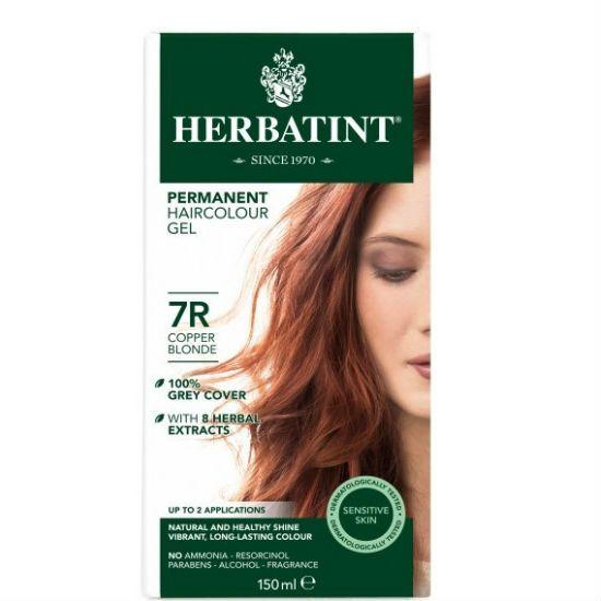 - herbatint 7r - Herbatint Φυτική Βαφή Μαλλιών 7R Ξανθό Χαλκού