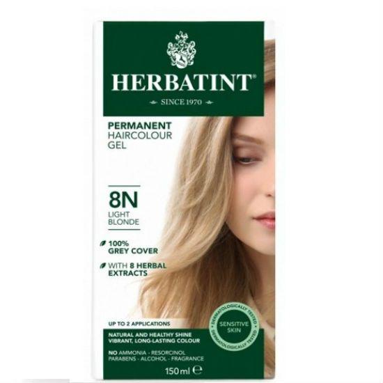 - herbatint 8n - Herbatint Φυτική Βαφή Μαλλιών 8N Ξανθό Ανοικτό