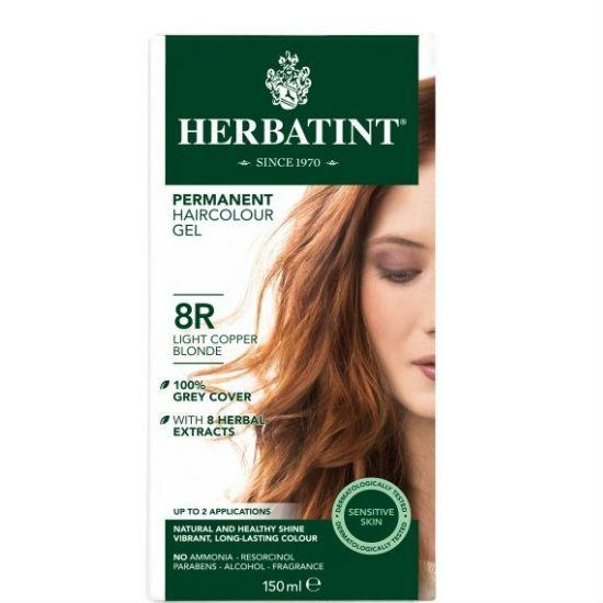 - herbatint 8r - Herbatint Φυτική Βαφή Μαλλιών 8R Ξανθό Ανοικτό Χαλκού 150ml