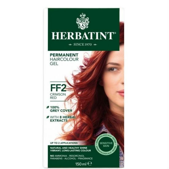 - herbatint ff2 - Herbatint Φυτική Βαφή Μαλλιών FF2 Βαθύ Κόκκινο 150ml