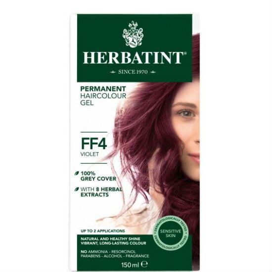 - herbatint ff4 - Herbatint Φυτική Βαφή Μαλλιών FF4 Βιολέ 150ml