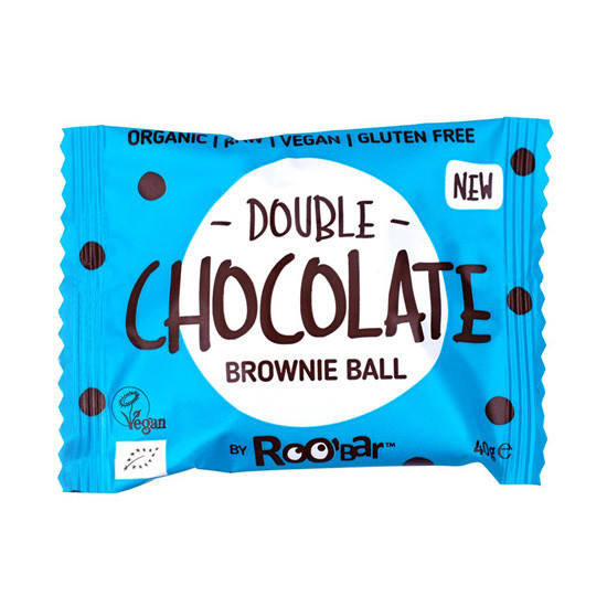 - brownie ball double chocolate - Roobar Brownie Ball με Διπλή Σοκολάτα
