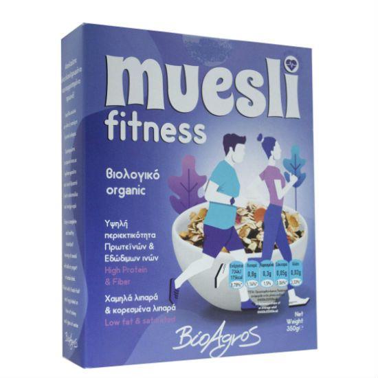 - fitness muesli - Βιο Αγρός Fitness Μούσλι 350gr