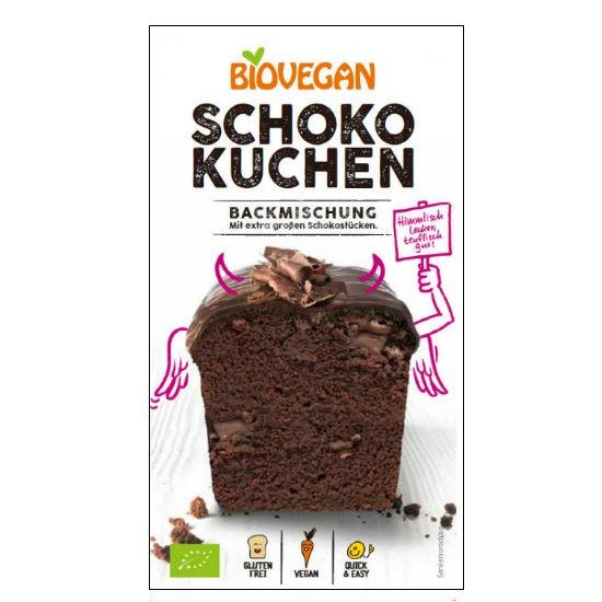 Biovegan Μείγμα για Κέικ Σοκολάτας Χωρίς Γλουτένη 380gr